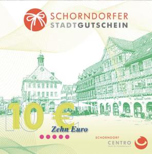 Stadtgutschein Schorndorf
