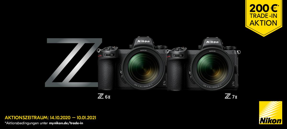 Nikon Trade-in Aktion Z6II und Z7II