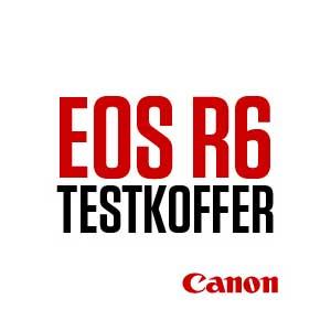 Canon Testkoffer Button