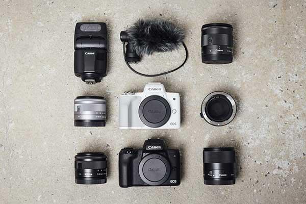 Canon EOS M50II Varianten