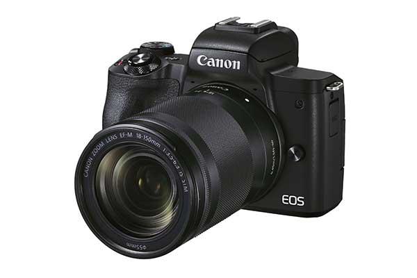 Canon EOS M50II mit EF-M 18-150