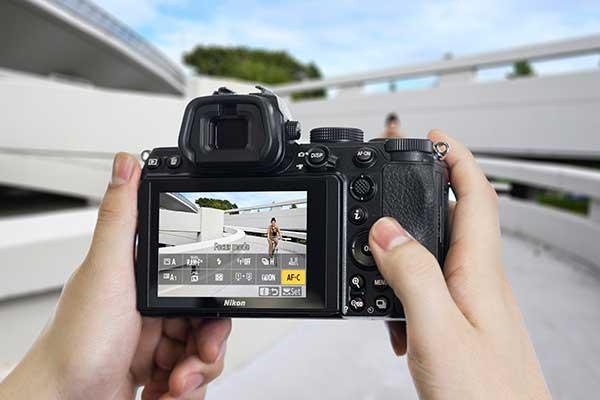 Nikon Z5 Display