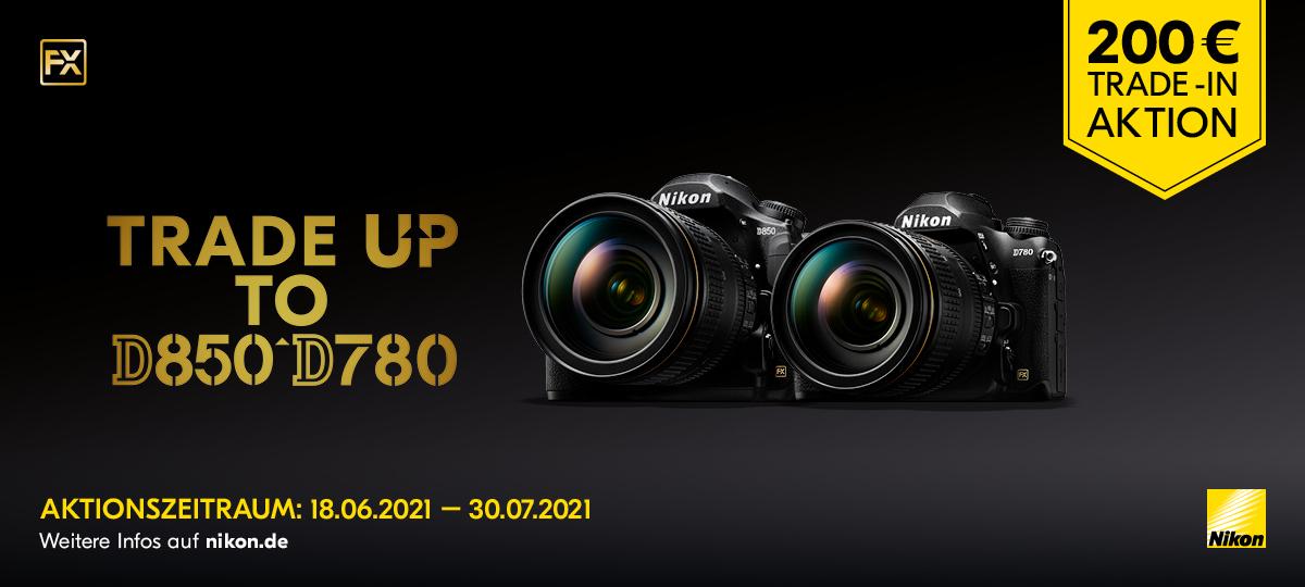 NiKon Trade-in D850 + D780
