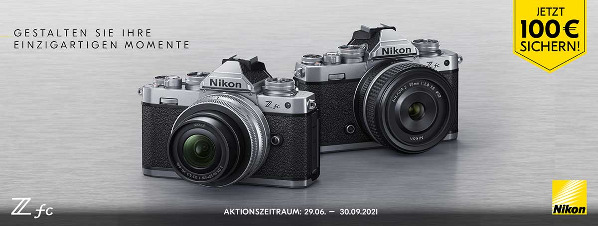 Nikon Z fc Einführungsaktion