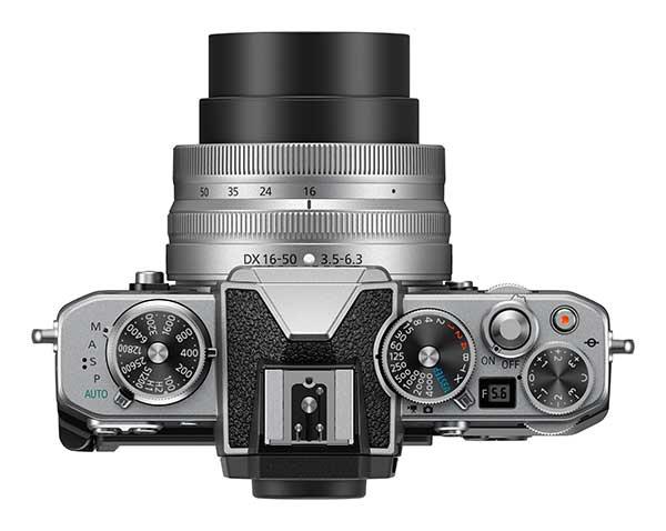 Nikon Z fc Top