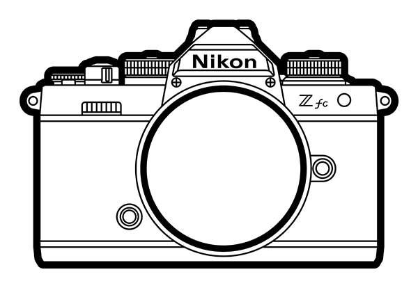Nikon Z fc Lineart